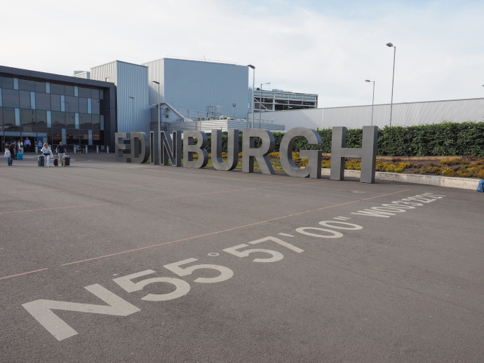 In 2016, Edinburgh Airport (EDI) handled 12,348,425 passengers, being the busiest airport in Scotland.